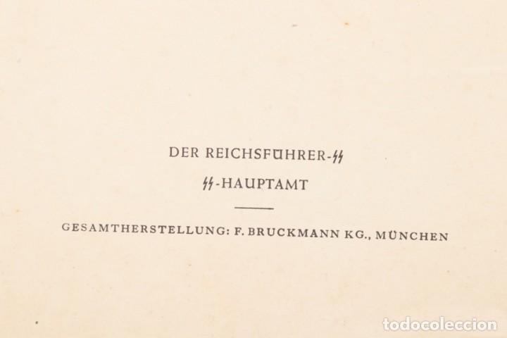 Militaria: Libro Weihnachts Liederbich 1942, Tercer Reich, Hitler, Nazi, NSDAP, SS Navidad - Foto 8 - 142971254