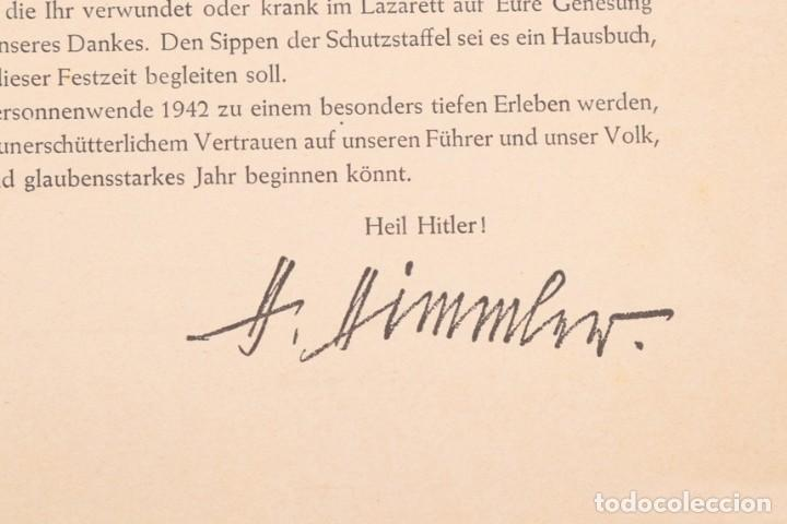 Militaria: Libro Weihnachts Liederbich 1942, Tercer Reich, Hitler, Nazi, NSDAP, SS Navidad - Foto 11 - 142971254