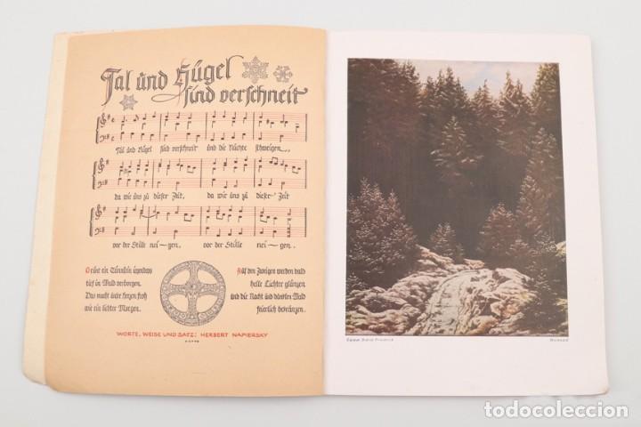 Militaria: Libro Weihnachts Liederbich 1942, Tercer Reich, Hitler, Nazi, NSDAP, SS Navidad - Foto 12 - 142971254