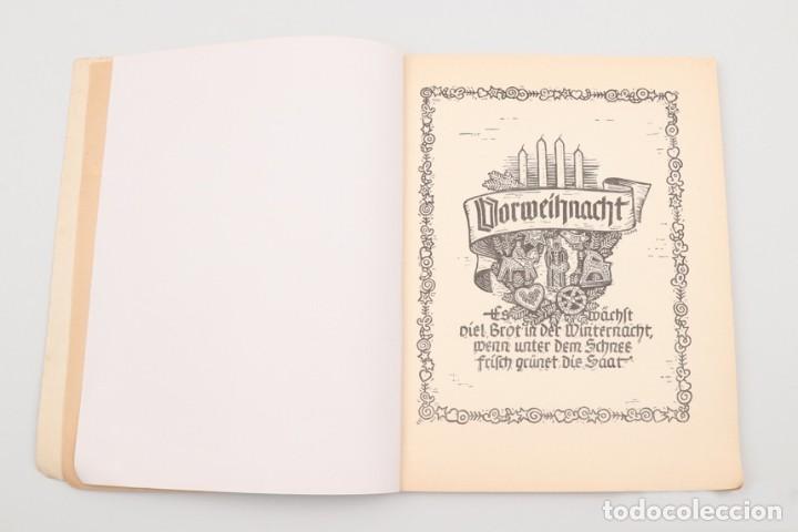 Militaria: Libro Weihnachts Liederbich 1942, Tercer Reich, Hitler, Nazi, NSDAP, SS Navidad - Foto 13 - 142971254