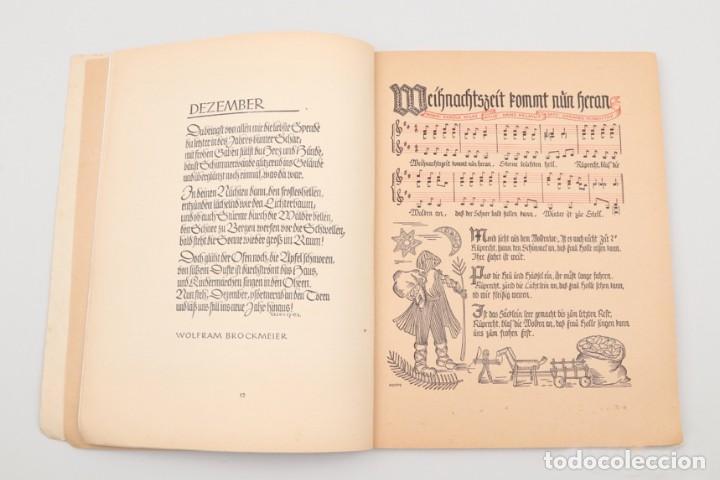 Militaria: Libro Weihnachts Liederbich 1942, Tercer Reich, Hitler, Nazi, NSDAP, SS Navidad - Foto 14 - 142971254