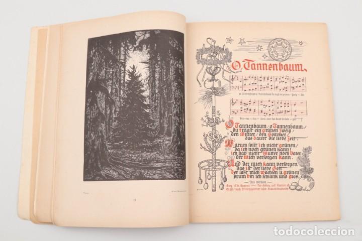 Militaria: Libro Weihnachts Liederbich 1942, Tercer Reich, Hitler, Nazi, NSDAP, SS Navidad - Foto 16 - 142971254