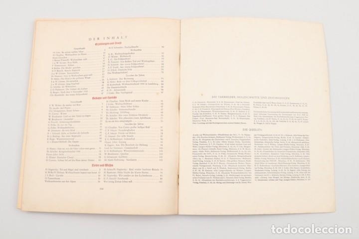 Militaria: Libro Weihnachts Liederbich 1942, Tercer Reich, Hitler, Nazi, NSDAP, SS Navidad - Foto 20 - 142971254