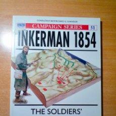 Militaria: OSPREY INKERMAN 1854. Lote 143266626