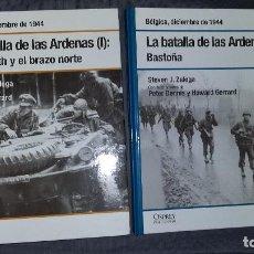 Militaria: LA BATALLA DE LAS ARDENAS. OSPREY SEGUNDA GUERRA MUNDIAL. Lote 143403102