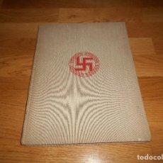 Militaria: LA NUEVA ARQUITECTURA ALEMANA 1941 ALBERT SPEER EDICIÓN BILINGÜE, BERLIN 24X32CM SEGUNDA G. MUNDIAL. Lote 144008610