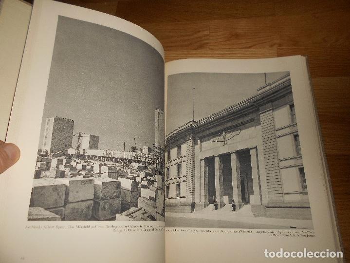 Militaria: La nueva arquitectura alemana 1941 Albert Speer edición bilingüe, Berlin 24x32cm SEGUNDA G. MUNDIAL - Foto 4 - 144008610