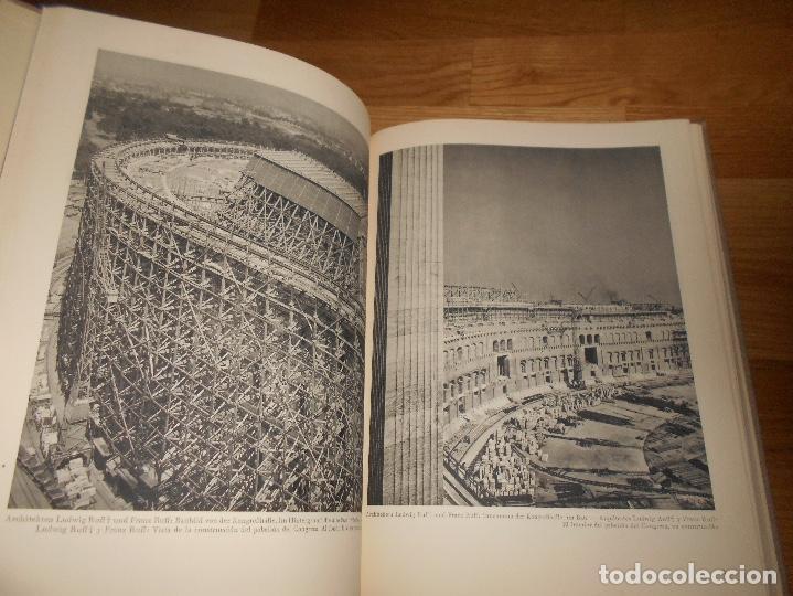 Militaria: La nueva arquitectura alemana 1941 Albert Speer edición bilingüe, Berlin 24x32cm SEGUNDA G. MUNDIAL - Foto 5 - 144008610