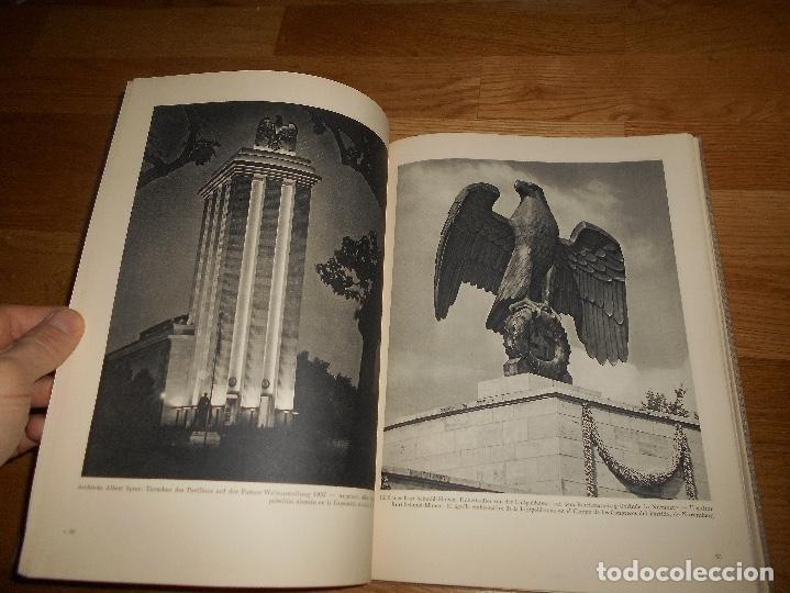 Militaria: La nueva arquitectura alemana 1941 Albert Speer edición bilingüe, Berlin 24x32cm SEGUNDA G. MUNDIAL - Foto 7 - 144008610
