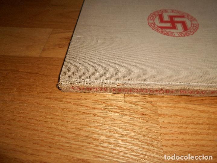Militaria: La nueva arquitectura alemana 1941 Albert Speer edición bilingüe, Berlin 24x32cm SEGUNDA G. MUNDIAL - Foto 14 - 144008610