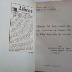 Militaria: LIBRO COLONIAS ESPAÑOLAS EPOCA FRANQUISTA.1941.MARRUERCOS.GUINEA.SIDI IFNI.TETUAN. CEUTA.MILIT. Lote 145145474
