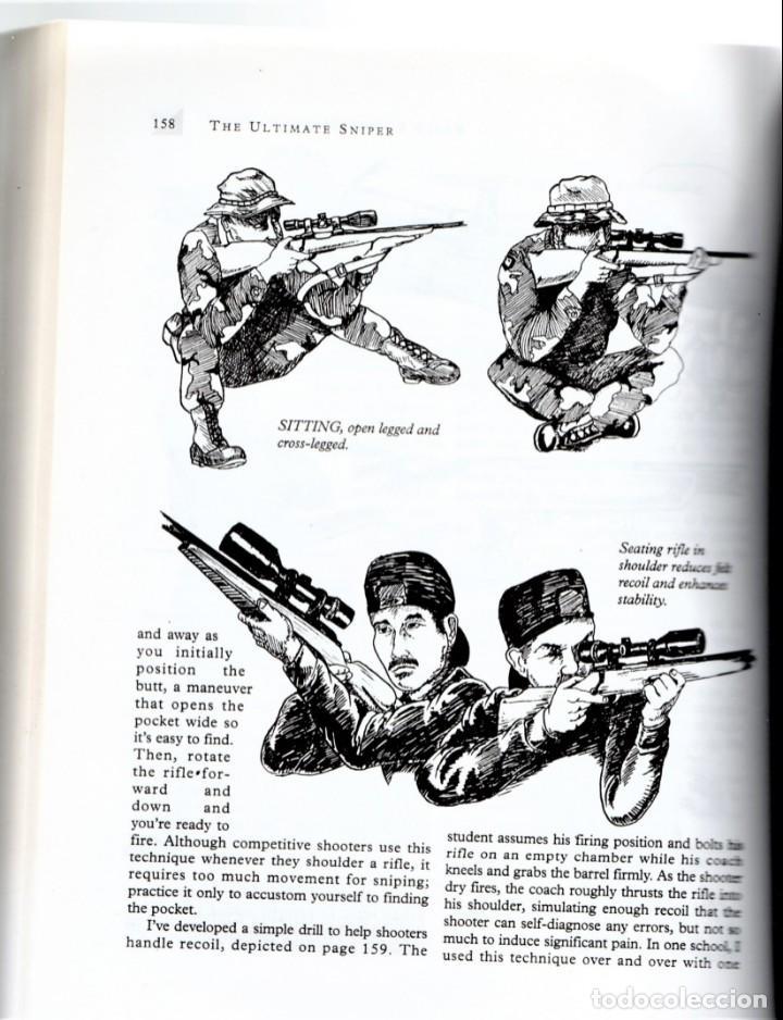 LIBRO FRANCOTIRADORES,AÑO 1993,MANUAL AVANZADO DE ENTRENAMIENTO POLICIA Y EJERCITO EE.UU.EN INGLES (Militar - Libros y Literatura Militar)