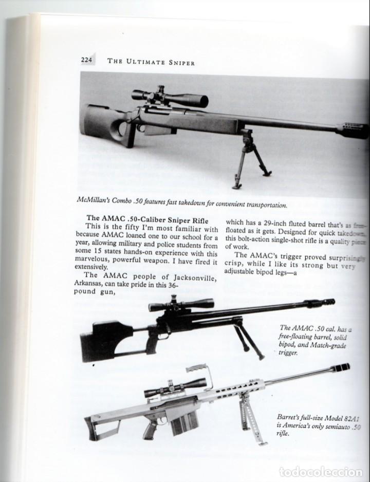 Militaria: LIBRO FRANCOTIRADORES,AÑO 1993,MANUAL AVANZADO DE ENTRENAMIENTO POLICIA Y EJERCITO EE.UU.EN INGLES - Foto 3 - 145389038