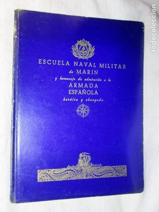 GALICIA -MARIN - ESCUELA NAVAL DE MARIN ARMADA ESPAÑOLA - LUGRIS - EDI PPKO VIGO 1943 + INFO 1S (Militar - Libros y Literatura Militar)