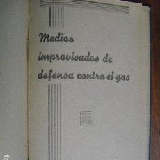 Militaria: GUERRA CIVIL MEDIOS IMPROVISADOS DE DEFENSA CONTRA EL GAS EJERCITO REPUBLICANO. Lote 145607658