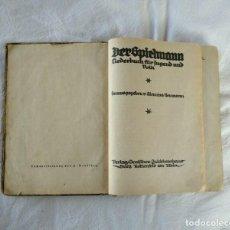 Militaria: ALEMANIA 1922. LIBRO DE CANCIONES PARA LA JUVENTUD Y EL PUEBLO.. Lote 145742162