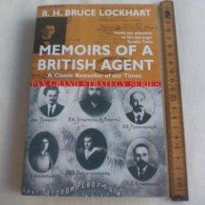 Militaria: MEMOIRS OF A BRITISH AGENT. R.H. BRUCE LOCKHART. PAN BOOK GRAND STRATEGY SERIES. 2002. Lote 146582010