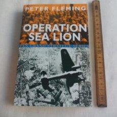 Militaria: OPERATION SEA LION, PETER FLEMING. PAN BOOK GRAND STRATEGY SERIES. 2003. Lote 146582106