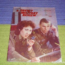 Militaria: SOVIET MILITARY REVIEW - AÑO 1986 -. Lote 146660502
