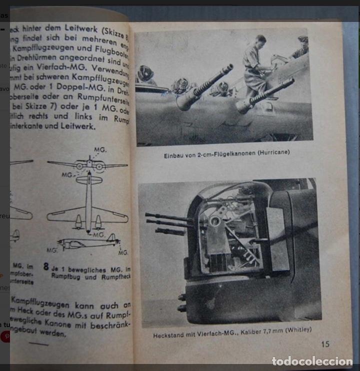 Militaria: ALEMANIA AÑO 1934. LUFTWAFFE. DESCRIPCION AVIONES DE COMBATE. MPRESIONANTE LIBRO DE COLECCIÓN. - Foto 6 - 146790502