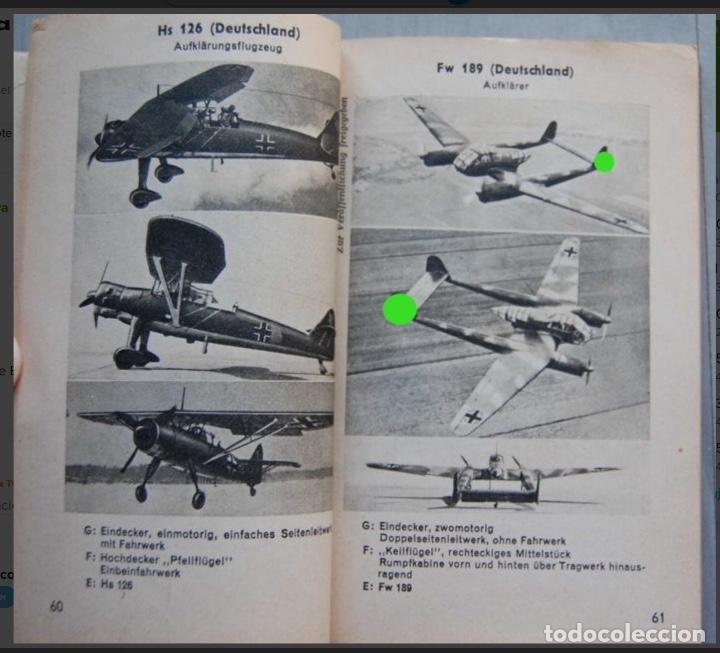 Militaria: ALEMANIA AÑO 1934. LUFTWAFFE. DESCRIPCION AVIONES DE COMBATE. MPRESIONANTE LIBRO DE COLECCIÓN. - Foto 8 - 146790502