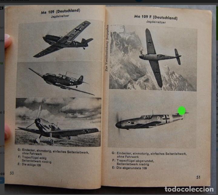 Militaria: ALEMANIA AÑO 1934. LUFTWAFFE. DESCRIPCION AVIONES DE COMBATE. MPRESIONANTE LIBRO DE COLECCIÓN. - Foto 7 - 146790502