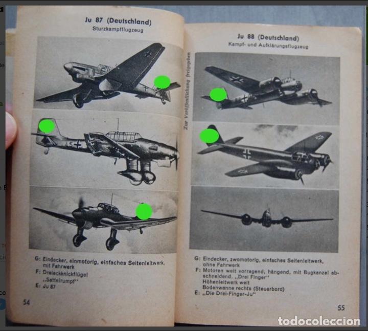 Militaria: ALEMANIA AÑO 1934. LUFTWAFFE. DESCRIPCION AVIONES DE COMBATE. MPRESIONANTE LIBRO DE COLECCIÓN. - Foto 3 - 146790502