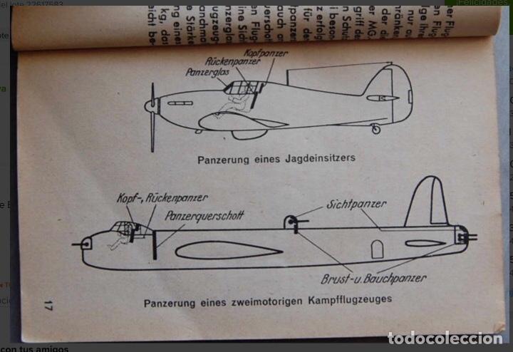 Militaria: ALEMANIA AÑO 1934. LUFTWAFFE. DESCRIPCION AVIONES DE COMBATE. MPRESIONANTE LIBRO DE COLECCIÓN. - Foto 9 - 146790502