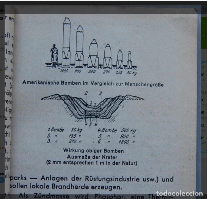 Militaria: ALEMANIA AÑO 1934. LUFTWAFFE. DESCRIPCION AVIONES DE COMBATE. MPRESIONANTE LIBRO DE COLECCIÓN. - Foto 4 - 146790502