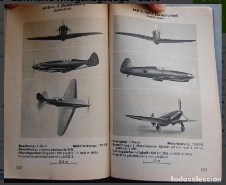 Militaria: ALEMANIA AÑO 1934. LUFTWAFFE. DESCRIPCION AVIONES DE COMBATE. MPRESIONANTE LIBRO DE COLECCIÓN. - Foto 11 - 146790502
