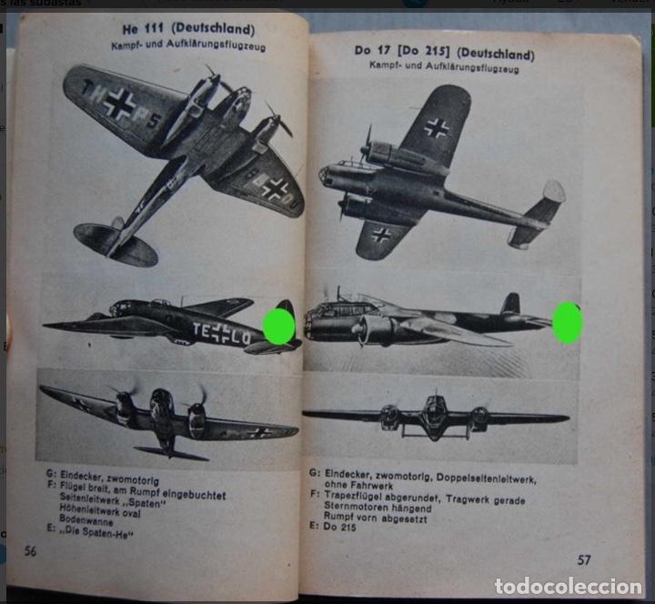 Militaria: ALEMANIA AÑO 1934. LUFTWAFFE. DESCRIPCION AVIONES DE COMBATE. MPRESIONANTE LIBRO DE COLECCIÓN. - Foto 14 - 146790502