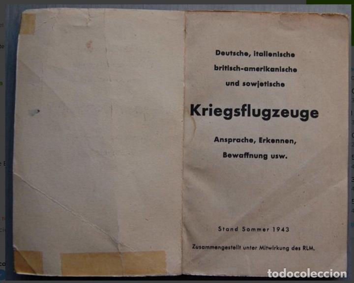 Militaria: ALEMANIA AÑO 1934. LUFTWAFFE. DESCRIPCION AVIONES DE COMBATE. MPRESIONANTE LIBRO DE COLECCIÓN. - Foto 2 - 146790502