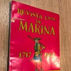 Militaria: REVISTA GENERAL DE MARINA 1717-1967.. Lote 147307446