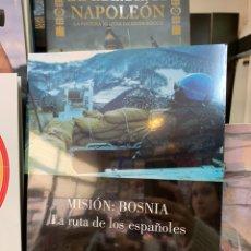 Militaria: MISIÓN BOSNIA: LA RUTA DE LOS ESPAÑOLES. MINISTERIO DE DEFENSA. Lote 147314861