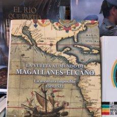 Militaria: LA VUELTA AL MUNDO DE MAGALLANES ELCANO. MINISTERIO DE DEFENSA. Lote 147315436