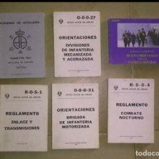 Militaria: LOTE MANUALES.10€ CADA UNO. Lote 147743010