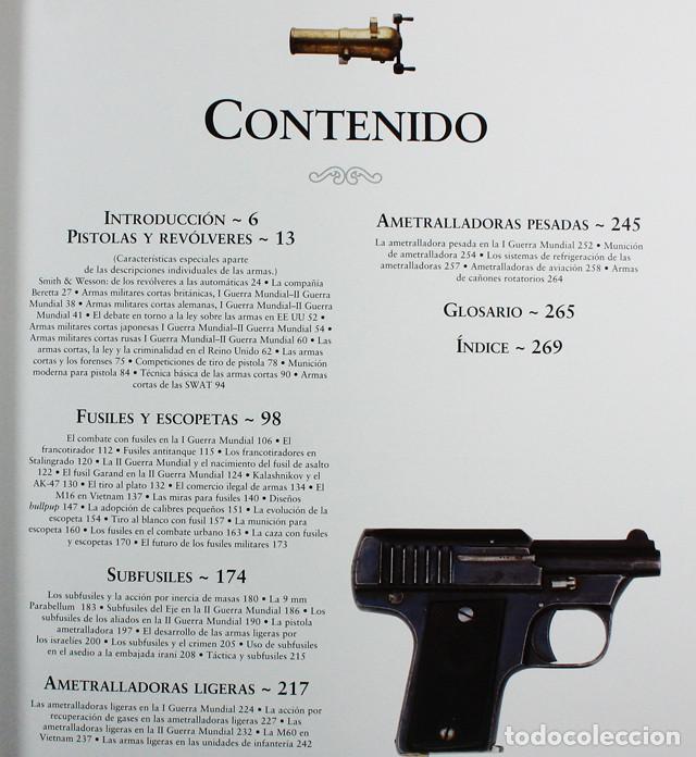 Militaria: ATLAS ILUSTRADO DE LAS ARMAS DE FUEGO, SUSAETA, TAPA DURA 272 PAGINAS - Foto 3 - 147762286