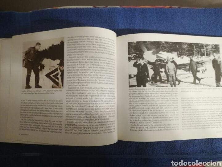 Militaria: Libro sobre los aviones y sus misiones en la Segunda Guerra Mundial.Ilustraciones y fotos aereas. - Foto 3 - 147762945