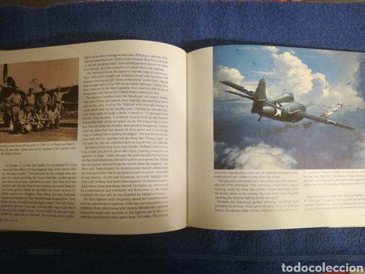 Militaria: Libro sobre los aviones y sus misiones en la Segunda Guerra Mundial.Ilustraciones y fotos aereas. - Foto 5 - 147762945