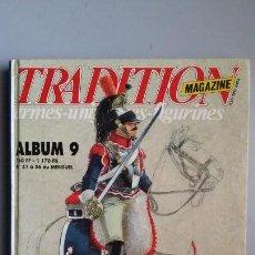 Militaria: TRADITION MAGAZINE. ALBUM 9. Lote 147869810