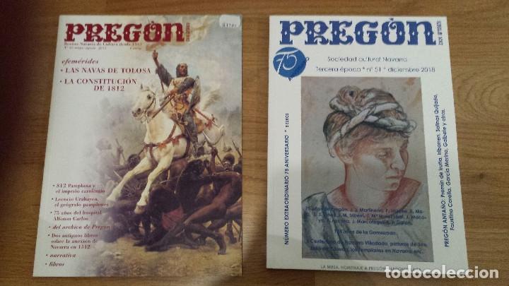 2 REVISTAS HISTORIA PREGON: NAVAS TOLOSA 1212-CONST CADIZ 1812 + 5 ANIVERSARIO (Militar - Libros y Literatura Militar)
