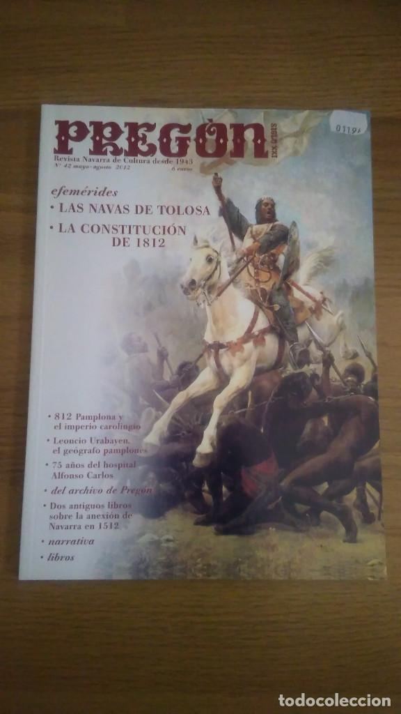 Militaria: 2 REVISTAS HISTORIA PREGON: NAVAS TOLOSA 1212-CONST CADIZ 1812 + 5 ANIVERSARIO - Foto 2 - 127216691