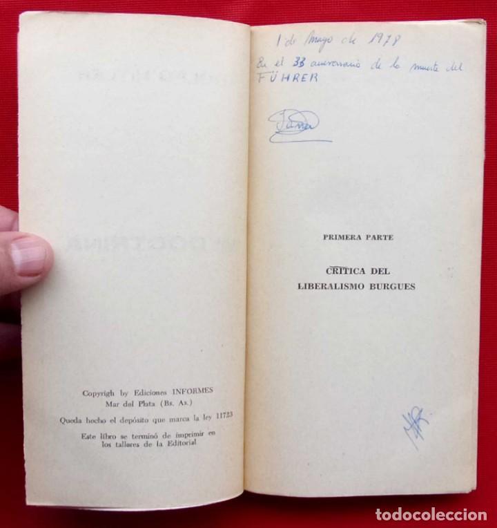 Militaria: ADOLFO HITLER. MI DOCTRINA. AÑO: 1976. BUENOS AIRES. ARGENTINA. EDICIONES INFORMES. - Foto 4 - 148299914