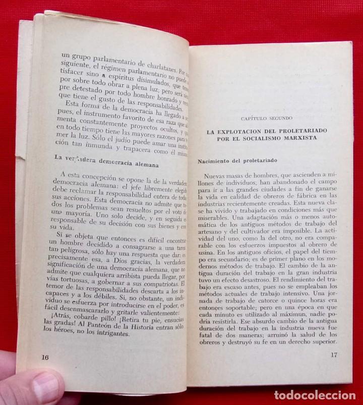 Militaria: ADOLFO HITLER. MI DOCTRINA. AÑO: 1976. BUENOS AIRES. ARGENTINA. EDICIONES INFORMES. - Foto 7 - 148299914