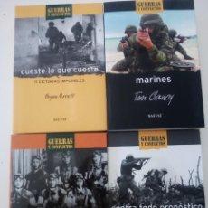Militaria: LOTE DE LIBROS DE HISTORIA MILITAR GUERRAS Y CONFLICTOS SALVAT. Lote 148321598