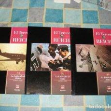Militaria: EL TERCER REICH 49, 50, 51: LA LUFTWAFFE DE HITLER, COMPLETA, 1997, ROMBO, 3 TOMOS, MUY BUEN ESTADO. Lote 148423190