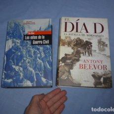 Militaria: * LOTE 2 LIBRO DE GUERRA CIVIL Y II GUERRA MUNDIAL. LOS MITOS Y EL DIA D. ZX. Lote 148537750