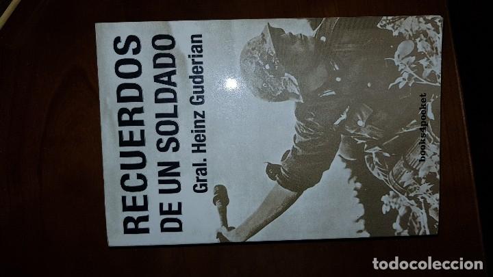 RECUERDOS DE UN SOLDADO. GENERAL GUDERIAN (Militar - Libros y Literatura Militar)