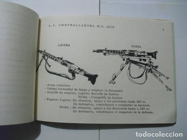 CARACTERISTICAS DE LAS ARMAS DE INFANTERIA (Militar - Libros y Literatura Militar)