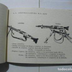 Militaria: CARACTERISTICAS DE LAS ARMAS DE INFANTERIA. Lote 149551018
